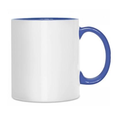 Сова с чаем и снежинками