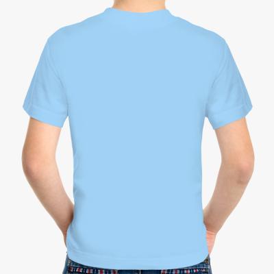 Детская футболка Never miss a chance, голубая