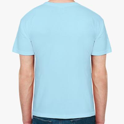 Мужская футболка The Divine in me  (голубая)