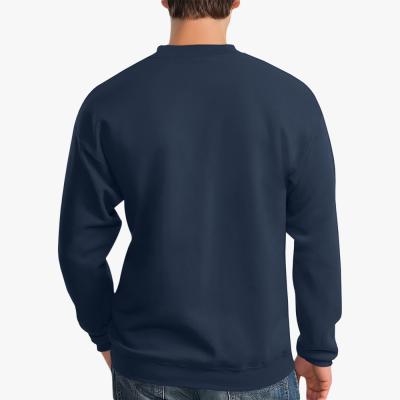 Толстовка Hanes Comfortsoft® Organic, темно-синяя