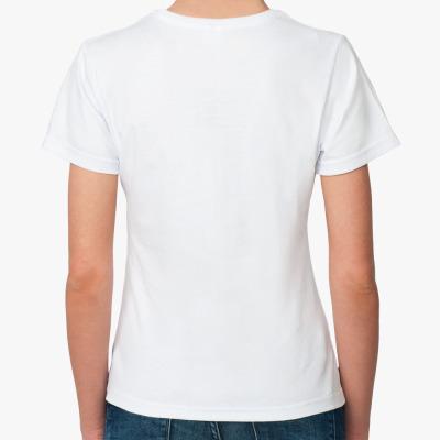 Женская футболка Summer in the City — Пушкинская