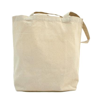 Холщовая сумка Девушка №5