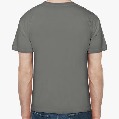 Мужская футболка Stedman, сине-серая