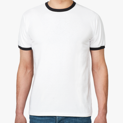 Футболка Ringer-T Corolla Fielder белая