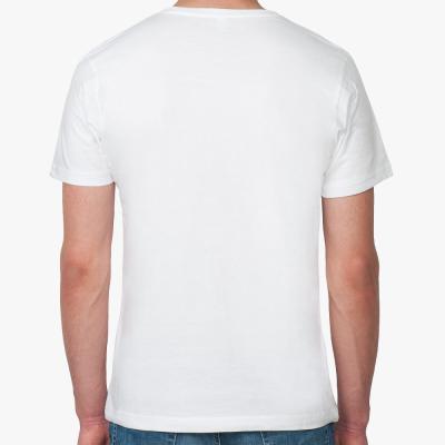 Футболка Continental Clothing slim-fit из органик-хлопка