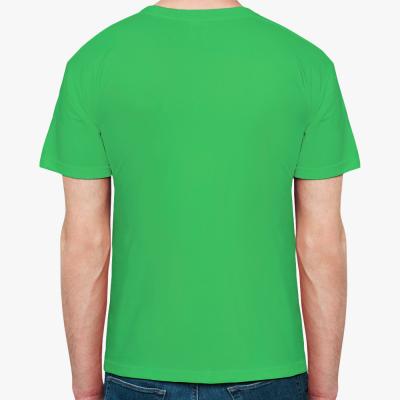 Мужская футболка Fruit of the Loom, зеленая