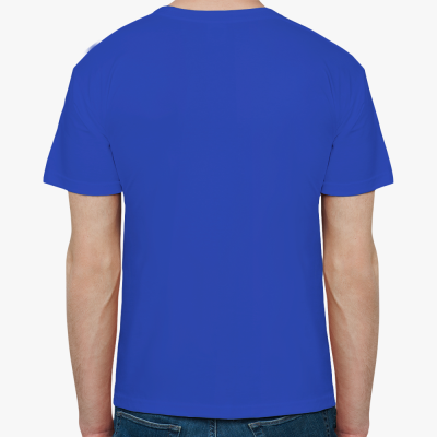 Мужская футболка Fruit of the Loom (ярко-синяя)