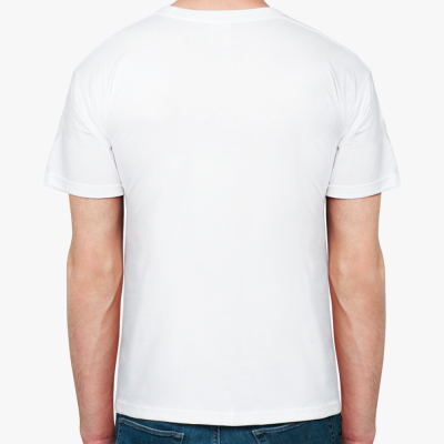 "Муж. футболка ""Шкафный ангел"""