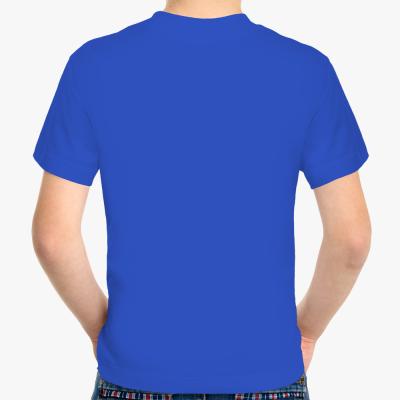 Детская футболка Never miss a chance, синяя