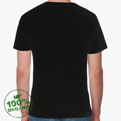 Футболка ClubAdultGAMES из органик-хлопка (черная)
