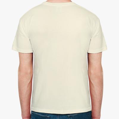 Мужская футболка Fruit of the Loom, неокрашенный хлопок