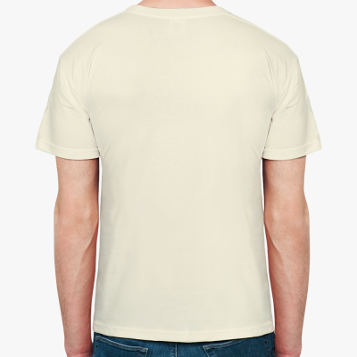 Мужская футболка The Divine  (неокрашенный хлопок)