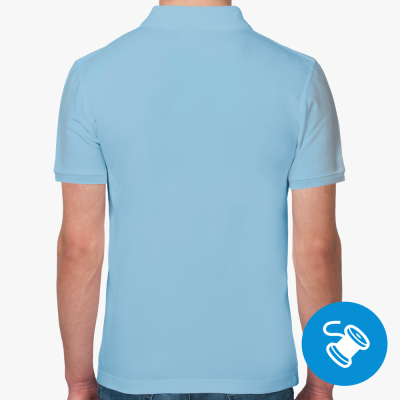 Мужская рубашка Polo от RUVDS