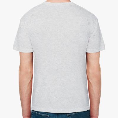 Мужская футболка Fruit of the Loom (светлый меланж)