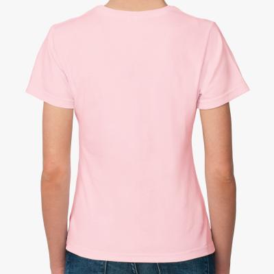 Женская футболка Sol's, розовая