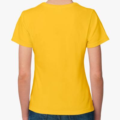 Женская футболка Fruit of the Loom, желтая