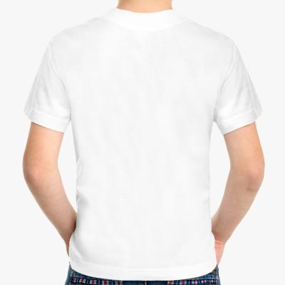 Детская футболка Never miss a chance, белая