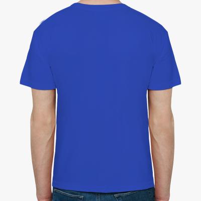 Мужская футболка (синяя)