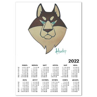 Календарь Хаски