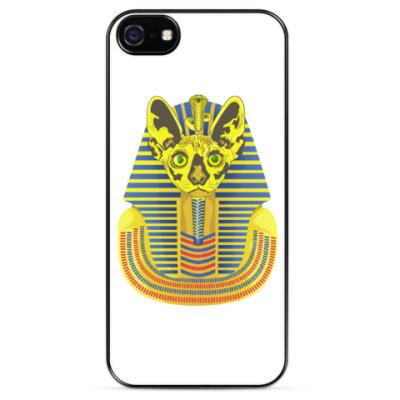 Чехол для iPhone Кот фараон.