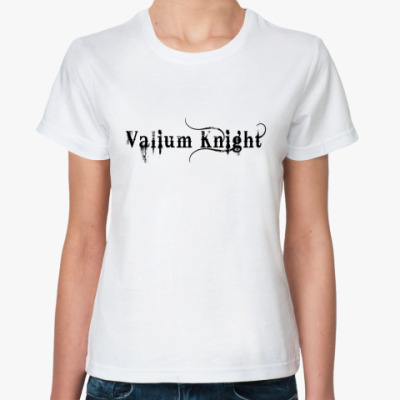 Классическая футболка  Valium knight