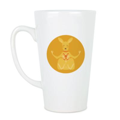 Чашка Латте Animal Zen: K is for Kangaroo