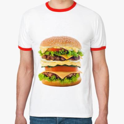 Футболка Ringer-T Гамбургер
