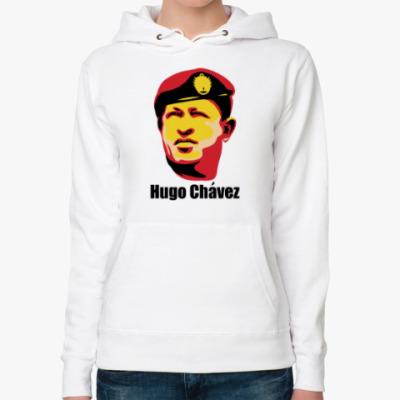Женская толстовка худи Уго Чавес