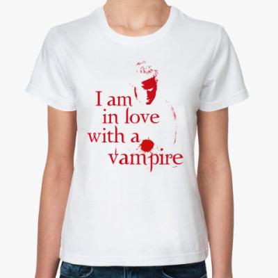 Классическая футболка Love Vampire