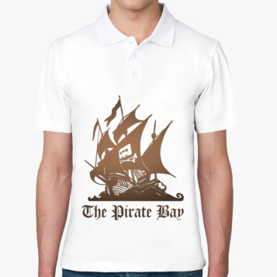 Рубашка поло поло пират the pirate bay