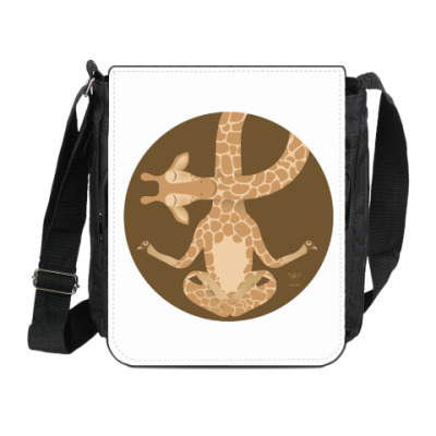 Сумка на плечо (мини-планшет)  Animal Zen: G is for Giraffe