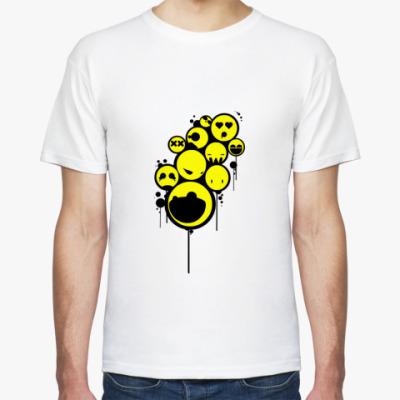 Футболка  футболка Smiley
