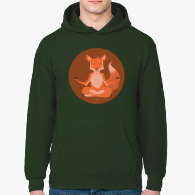 Толстовка худи Animal Zen: F is for Fox