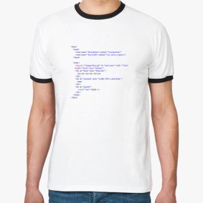 Футболка Ringer-T HTML-код