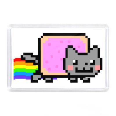 Магнит  NyanCat 7,5x5,15 см