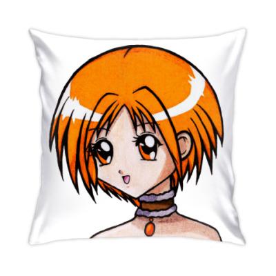 Подушка Аниме девушка