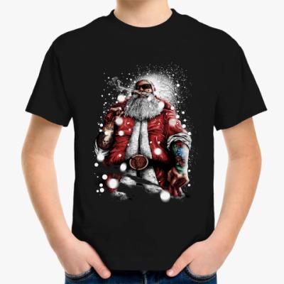 Детская футболка Большой Санта