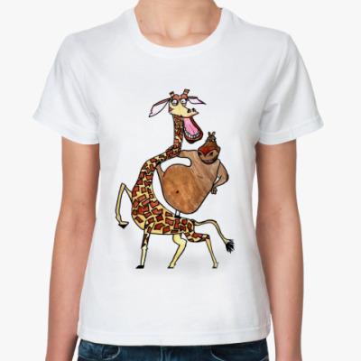 Классическая футболка Мелман и Глория