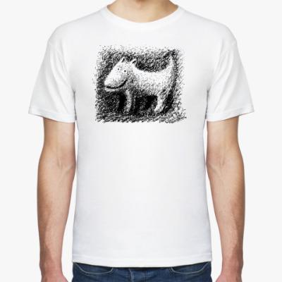 Футболка  'Серый волк'