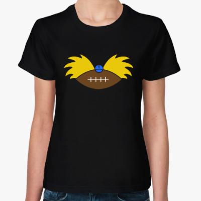 Женская футболка Эй, Арнольд