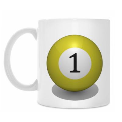 Кружка 'Бильярдный шар 1'