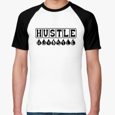 Футболка реглан Hustle