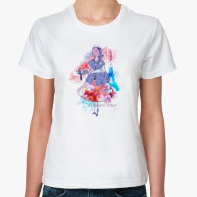 Классическая футболка Я люблю Диор