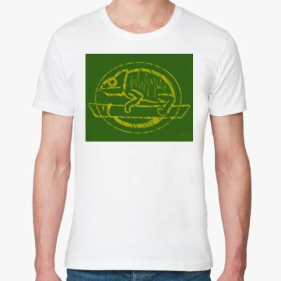 Футболка из органик-хлопка Хамелеон