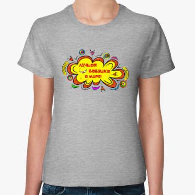 Женская футболка Лучшая бабушка в мире