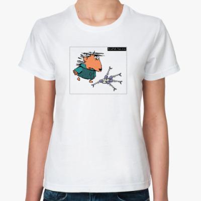 Классическая футболка Жен.футб. Walden_2