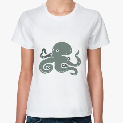 Классическая футболка Осьминог