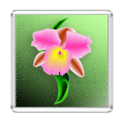 Магнит Орхидея