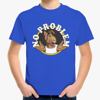 Детская футболка Альф - нет проблем