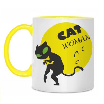 Кружка Женщина-кошка